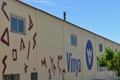 Vinya els Vilars murals art i vi Arbeca DO Costers del Segre - 13 de 28