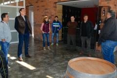 Visita del Col·legi de Periodistes 2014