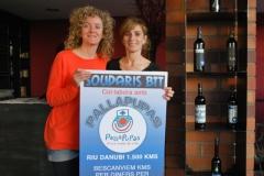 Suport a solidaris BTT 1500 km pel Danubi 2014