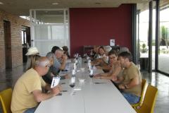 Trobada d'autocaravanes a Vinya els Vilars 2014