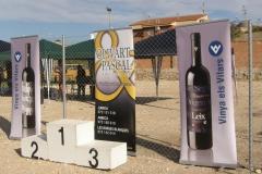 Vinya els Vilars amb el 4rt trail Arbeca 2013