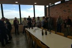 Visita a Vinya els Vilars dels Amics del terral de Borges Blanques - 02