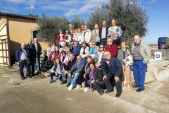 Visita a Vinya els Vilars dels Amics del terral de Borges Blanques - 03