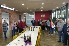 Visita a Vinya els Vilars dels Amics del terral de Borges Blanques - 10